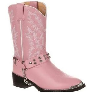 Durango New girls pink Cowgirl Boots